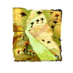 A Mapmaker's Dream Art Diary, Outdoor Blanket, Artwork, Journal Art, Work Of Art, Newspaper Art, Auguste Rodin Artwork, Artworks, Illustrators