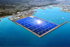 """Kagoshima Nanatsujima Mega-Solar Power Plant""   1.27 million squared meters(27 baseball stadiums)  Will power 22,000 homes  Cost $390 million"