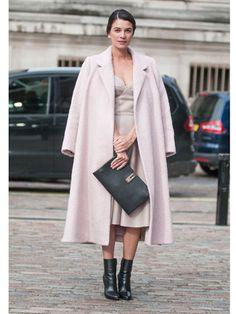 London Fashion Week Frühjahr 2014 Street Style - My Style - Mode Stilettos, Leila Yavari, Spring Fashion, Autumn Fashion, Nude Outfits, Mode Inspiration, Classic Outfits, Editorial Fashion, Style Me