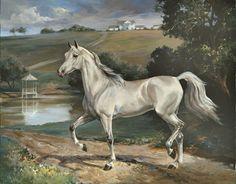 Greta :: Woodsong Institute of Art :: Horse Painting