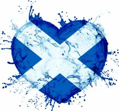 scottishheartflagsplash