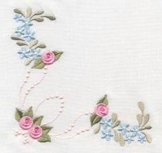 Antique Pearly Rose Quilt - Artistic Designs   OregonPatchWorks