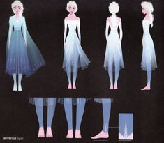 Art of Frozen 2 Elsa scans Frozen Art, Disney Frozen, Disney Concept Art, Disney Art, Frozen 2 Elsa Dress, Elsa Outfit, Princesse Disney Swag, Elsa Cosplay, Jack And Elsa