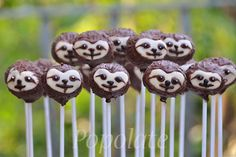 Mini cakes goat-zucchini and ricotta-spinach - Clean Eating Snacks Animal Cake Pops, Animal Cakes, Baby Sloth, Cute Sloth, Cupcakes, Cupcake Cakes, Sloth Cakes, Savoury Cake, Mini Cakes