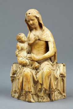 Virgin and Child    Object:  Statuette    Place of origin:  England, Great Britain (probably, made)    Date:  ca. 1400 (made)