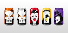 Coca-Cola owned fizzy drink Fanta is getting in the spooky spirit with a range of Halloween-themed can designs released for the holiday.