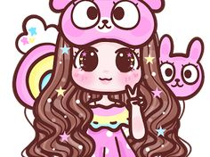 Kawaii Chibi, Kawaii Art, Portrait Cartoon, Mickey Mouse Wallpaper, Chibi Girl, Galaxy Wallpaper, Princess Peach, Cute Girls, Cool Art