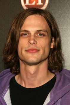 If I had an ultimate type... Matthew Gray Gubler would be it. Tall, skinny, awkward, smart, artistic... what a dream boat :o)