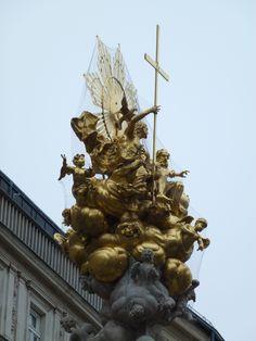 Danube River Cruise Ship    ||  DerTour Mozart   ||  Vienna, Austria - Plague Memorial  ||  140513