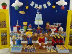 The Litlle Prince Birthday Party Ideas | Photo 10 of 19 | Catch My Party