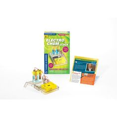 Thames and Kosmos Electro Chem Clock Science Kit