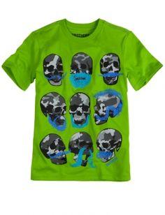 Mustache Skulls or mohawk skull