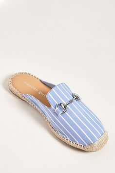 Tendance Chaussures 2018 : Product Name:Madden Girl Striped Loafer Mules, Category:Shoes, - Flashmode Belgium Loafer Mules, Loafers, Cute Shoes, Me Too Shoes, Shoe Boots, Shoes Sandals, Shoes 2017, Beautiful Shoes, New Shoes