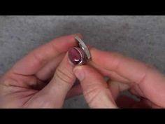 Angela Hubel - Pink Tourmaline Laguna Ring - ORRO Jewellery Glasgow
