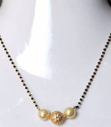 Buy A GOLD PLATED MANGALSUTRA mangalsutra online