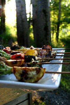 Ruoka-alkemisti: Teriyakimarinoidut kasvis-grillivartaat