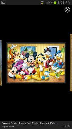 Mickey & Friends Picture (popartuk.com)