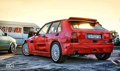 Lancia Delta HF Integrale EVO Red tunned body