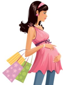 Mention shopping bags pregnant women vector material PNG and Vector Pregnancy Scrapbook, Pregnancy Journal, Baby Scrapbook, Pregnancy Art, Girl Clipart, Cute Clipart, Family Clipart, Baby Shawer, Mom And Baby