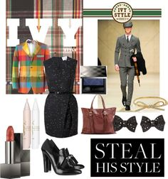 """""""Steal his Ivy League Style"""" by marissa-undercofler on Polyvore"""