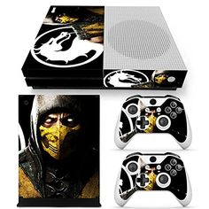 GoldenDeal Xbox One S Console Controller and Kinect Skin Set  Mortal Fight  XboxOne Vinyl ** Want to know more, click on the image.Note:It is affiliate link to Amazon.