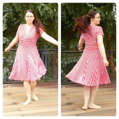 """mein Tiramisu-Kleid von Cake Patterns in """"Originalfarben"""""""