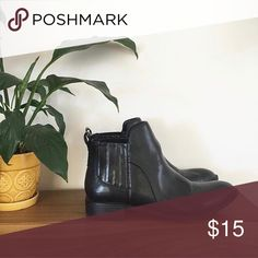 Black Boots These are like new! Worn once Forever 21 Shoes Ankle Boots & Booties