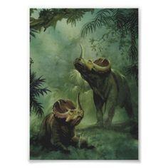 Centrosaurus Dinosaurs in the Jungle