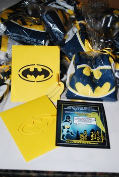 Convite Batman   Feito para a Bat Festa do Thiago
