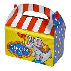 Circus Treat Box (Bulk Pack of 12 Boxes)