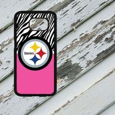 Pink and Zebra Print Pittsburgh Steelers Design by EastCoastDyeSub