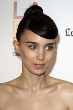 Cara triangular: Rooney Mara