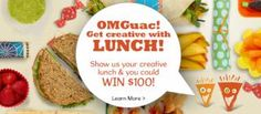 There's a new Wholly Guacamole contest online and you could win a $100 gift card and a cooler of Wholly Guacamole products! There is also a $1 coupon available, which makes the salsa a great deal at Harris Teeter this week!  Read on for the details about the OMGuac Lunch promotion!