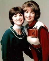 """Laverne and Shirley.....Shirley Feeney and Laverne De Fazio work at the fictitious """"Shotz"""" Brewery in Milwaukee."""