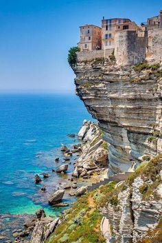 Bonifacio, Corse-du-Sud, Island of Corsica, France. Places Around The World, Travel Around The World, Around The Worlds, Corsica, Vacation Destinations, Dream Vacations, Greece Destinations, Dream Trips, Places To Travel