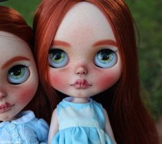 Anna - OOAK Custom Art Blythe Doll Twins by Rainfable Dolls (2016)