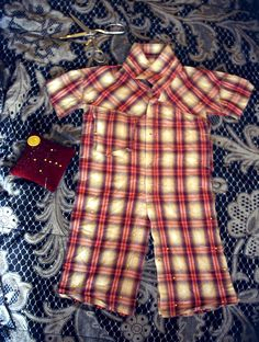 Making Baby Jumpers From Old Button Down Shirts