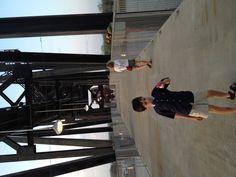 Downtown Little Rock walk bridge