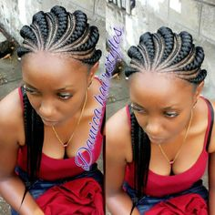 ♔ ♡ Very beautiful ♡ ♔ - African Braids Hairstyles Cornrows, Braided Cornrow Hairstyles, Feed In Braids Hairstyles, Braids Hairstyles Pictures, Braided Hairstyles For Black Women, Teen Hairstyles, African Hairstyles, Black Hairstyles, Gorgeous Hairstyles