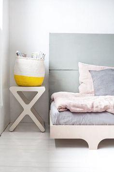 RaFa kids stool, bed and bedlinen