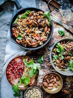 Taivaallinen libanonilainen pähkinä-linssi-riisi eli Hashew (vegaani, glut.) – Viimeistä Murua Myöten