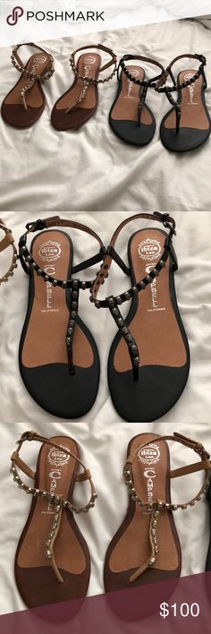 Jeffrey Campbell last Ibiza skull sandals Never worn!!!!! True to size both are size 8.5 NEW WITH OUT BOX Jeffrey Campbell Shoes Sandals