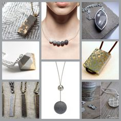 Betonschmuck Source by kerstinnaue Cement Jewelry, Ceramic Jewelry, Polymer Clay Jewelry, Resin Jewelry, Wire Wrapped Jewelry, Boho Jewelry, Jewelry Crafts, Jewelery, Handmade Jewelry