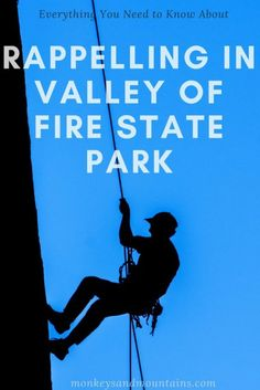 Everything you need to know about rappelling in Valley of Fire State Park, located just 45 minutes from Las Vegas.