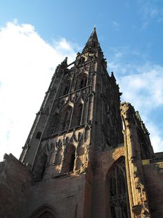 CoventryCathedralSpire - Coventry Cathedral -  ST. Michaels Wikipedia, the free encyclopedia