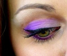 Purple Eye Makeup i Love it!