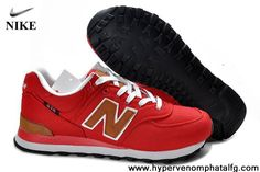Wholesale Discount New Balance NB ML574PBR backpack retro Red Brown For Women shoes Shoes Shop