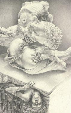 Gerard Gachet Untitled, ball-point pen on paper, 1985