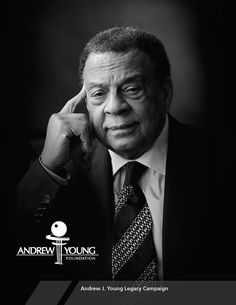 Introducing the new Andrew Young Legacy Initiative, Co-Chaired by Businessmen Thomas Dortch, Jr. and John Hope Bryant