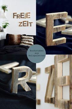 Entdeckung der Woche: Buchstaben aus Holz - Holz - Basteln/Hobby - Magazin - TOPP Kreativ